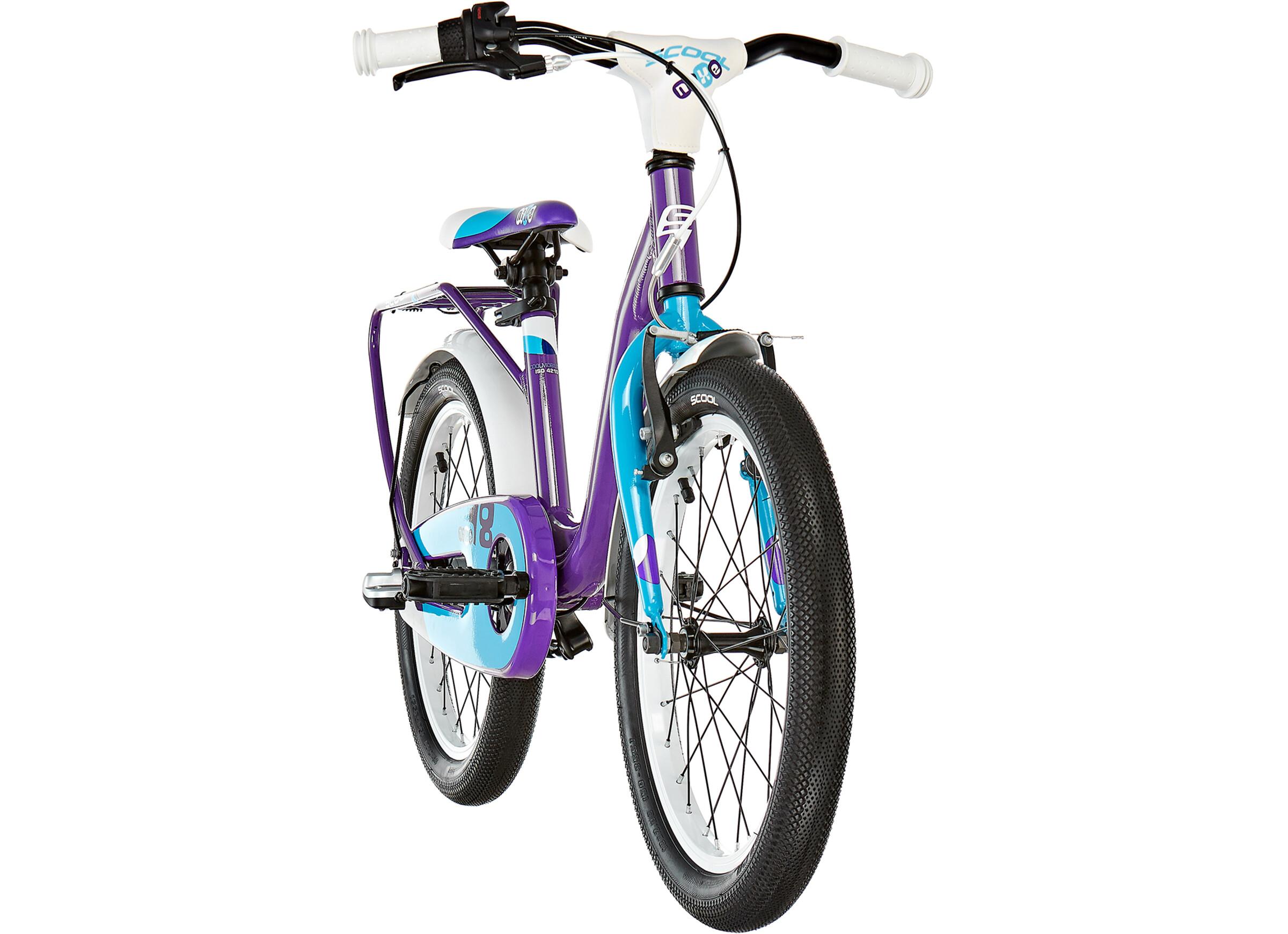 500e965b2 s cool niXe 18 3-S - Bicicletas para niños - alloy violeta azul ...